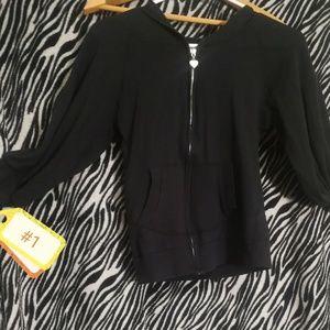 Derek Heart Crop Top sweater